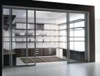 Steklene vgradne omare